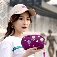 小包2018夏季新款女士手拿包韩版休闲尼龙手机帆布包零钱包拉链潮