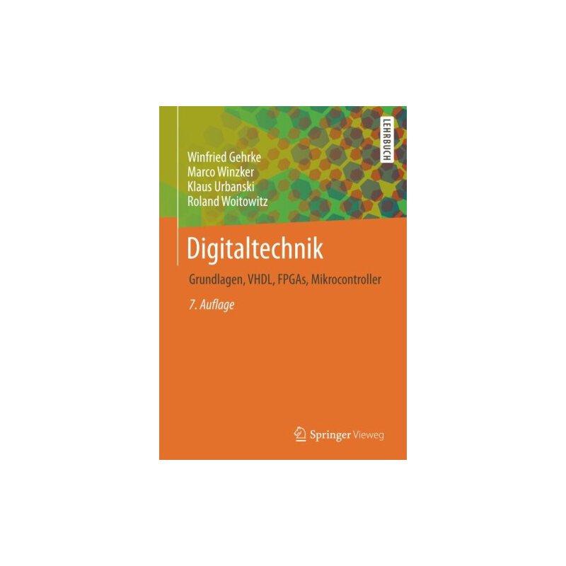 【预订】Digitaltechnik: Grundlagen, VHDL, FPGAs, Mikrocontroller 9783662497302 美国库房发货,通常付款后3-5周到货!