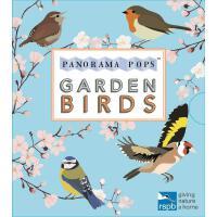 口袋立体书 花园里的小鸟 英文原版 Garden Birds: Panorama Pops 皇家鸟类保护协会 精装 剪纸