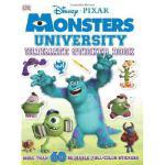 【预订】Ultimate Sticker Book: Monsters University