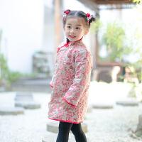 女童唐装冬拜年服中国风新年装童装过年喜庆宝宝装民族风儿童汉服