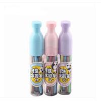 晨光文具ACP92116水彩笔 漂流瓶 塑料瓶可洗12色绘画彩色笔