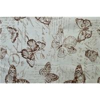 印花棉麻沙发布料 田园风沙发套抱枕靠垫桌布手工DIY布料