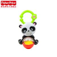 费雪缤纷动物宝宝牙胶 无毒牙胶摇铃组 婴儿手摇铃 玩具