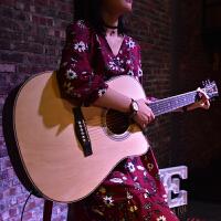 初学者学生男女入门电箱吉他41寸民谣木吉他乐器40寸吉他