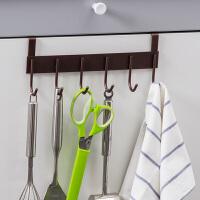 【领券满减】ORZ 橱柜门后免钉挂架 厨房小工具挂钩收纳架 无痕毛巾挂钩