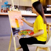 木制折叠多功能画架画板套装素描写生支架式画夹画袋画包成人小学生初学者4k画板画画架子美术绘画便携油画架