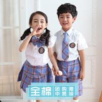 六一儿童演出服装女儿童节表演服男背带小学生合唱服幼儿园毕业照