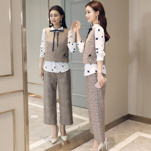 风轩衣度 套装舒适青春流行时尚都市百搭修身显瘦气质个性2018年春季新款2810