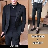 男士西装休闲男西服帅气单上衣韩版修身小西装青年冬季西服男外套