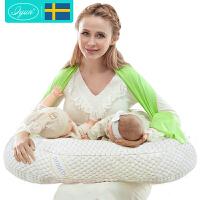 孕妇枕哺乳枕哺乳垫护腰神器 双胞胎哺乳枕头喂奶枕抱枕