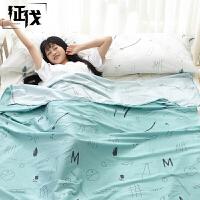征伐 旅行睡袋 单双人棉质宾馆酒店隔脏便携睡袋旅游户外用品