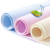 比多乐 婴儿隔尿垫防水超大可洗 透气竹纤维宝宝儿童隔尿布 大人月经垫