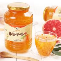 蜂蜜柚子茶1000g 柚子果茶酱冲泡果酱健康养生养颜美白女生饮品无添加