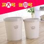 【支持礼品卡】尚创意家用垃圾桶卧室厨房客厅卫生间垃圾筒无盖带压圈纸篓kg4
