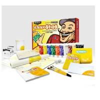 儿童手指画大师同行套装6-9岁 儿童早教玩具 儿童礼物