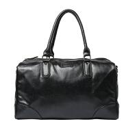 真皮男士旅行包大容量健身手提包短途韩版商务出差单肩行李包袋潮 大