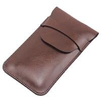 适用于ORICO奥睿科D固态移动硬盘盒子保护套收纳包袋 防刮皮套 路易棕 有盖款