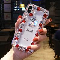 网红oppo手机壳奢华水钻女新款r15X全包硅胶软壳带钻潮
