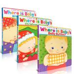 【顺丰包邮】Karen Katz凯伦.卡茨经典翻翻书Baby's Box touch book英文绘本