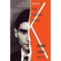 【预订】Kafka: The Decisive Years