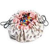 play and go儿童便携吊挂玩具收纳袋米奇游戏垫/外出野餐垫手提包