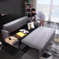 智能乳胶沙发床可折叠客厅小户型双人多功能简约现代两用1米8变床o2g
