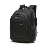 男士商务背包17寸电脑包大容量牛津布双肩包出差旅行简约休闲