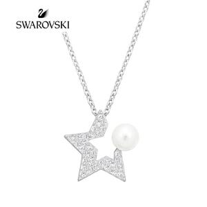 SWAROVSKI/施华洛世奇 FANFARE 时尚简约星型项链女锁骨链 5215275