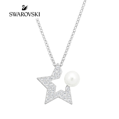 SWAROVSKI/施华洛世奇 FANFARE 时尚简约星型项链女锁骨链 5215275正品保障(可使用礼品卡)