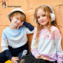 【3件3折券后预估价:95.76元】暇步士童装儿童卫衣秋装新款男童拼接卫衣女童中大童纯棉上衣