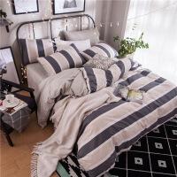 床上用品棉磨毛四件套厚棉1.5m床单人床单被套床品