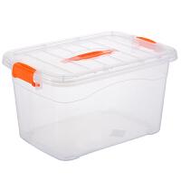衣柜衣物收纳盒整理盒子大小号套装透明储物箱塑料收纳箱整理箱子