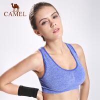 camel骆驼运动文胸 健身美背内衣舒适跑步防震瑜伽背心女