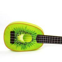?迷你水果吉它玩具儿童4弦吉他仿真尤克里里 3-6岁音乐?