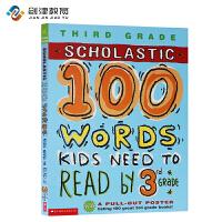英文原版 100 Vocabulary Words Kids Need To Read By 3rd Grade 课外
