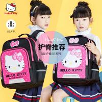 hello kitty书包小学生女童儿童双肩背包1-3-6年级女孩书包6-12岁