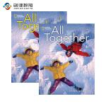All Together 1级别学生用书+练习册 英语原版进口少儿英语教材美国国家地理少儿英语教材