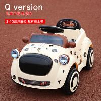 婴幼儿童电动四轮汽车遥控车小孩1-3岁男女宝宝玩具车可坐人