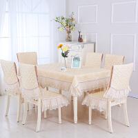 餐桌布椅套椅� 套�b布�餐椅套餐桌椅子套罩��s�F代家用桌套套�b