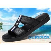 富贵鸟新款男士拖鞋男夏季户外真皮沙滩鞋一字拖休闲防滑凉拖凉鞋