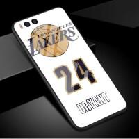 小米note3手机壳背影nba球星新款小米6玻璃套欧美运动篮球男款钢化防摔镜面全包玻璃套