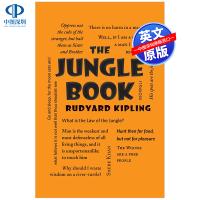 【预售英文原版】字云经典系列 The Jungle Book 奇幻森林丛林奇谭 吉卜林 英文原版小说