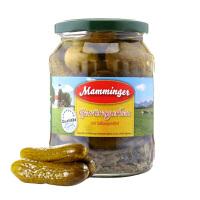 【中粮海外直采】曼明格Mamminger酸黄瓜670g(德国进口?瓶)