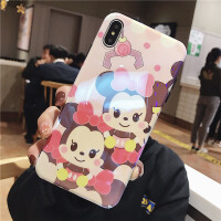 韩国/iPhoneXS MAX手机壳苹果7/8plus全包蓝光保护套XR情侣防摔8X卡通可爱6spl iphoneXS