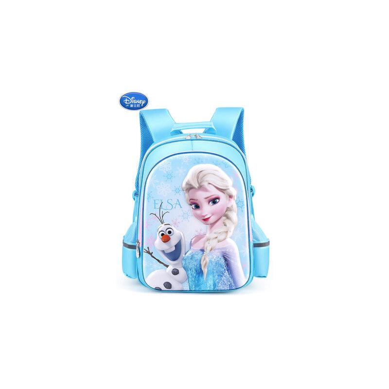 迪士尼书包小学生女1-3一年级冰雪奇缘爱莎公主双肩背包女童5儿童 1-3一年级冰雪奇缘爱莎公主双肩背包女童5