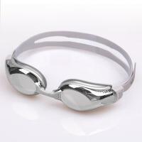 男女士平光眼镜可配左右度数不同近视游泳镜高清大框