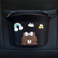 车载垃圾桶汽车用品垃圾袋挂式车上座椅后排雨伞收纳桶多功能创意