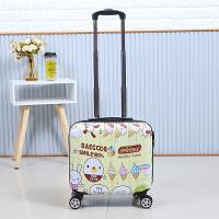 儿童卡通登机箱18寸小行李箱女迷你拉杆箱16寸学生可爱皮箱小清新