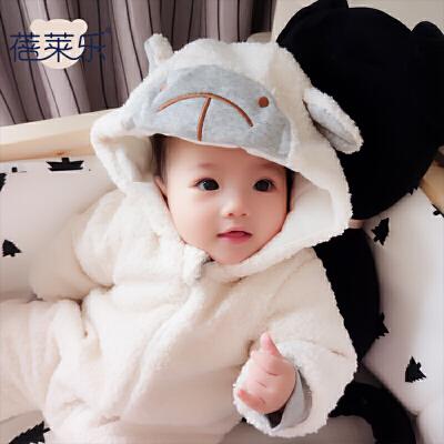 女婴儿连体衣冬季加厚宝宝外出抱衣服秋冬装新生儿外套装棉衣0岁1 发货周期:一般在付款后2-90天左右发货,具体发货时间请以与客服协商的时间为准